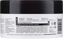 Maschera-scrub per capelli - Bio Happy Carbon Black & White Clay Scrub Mask — foto N2