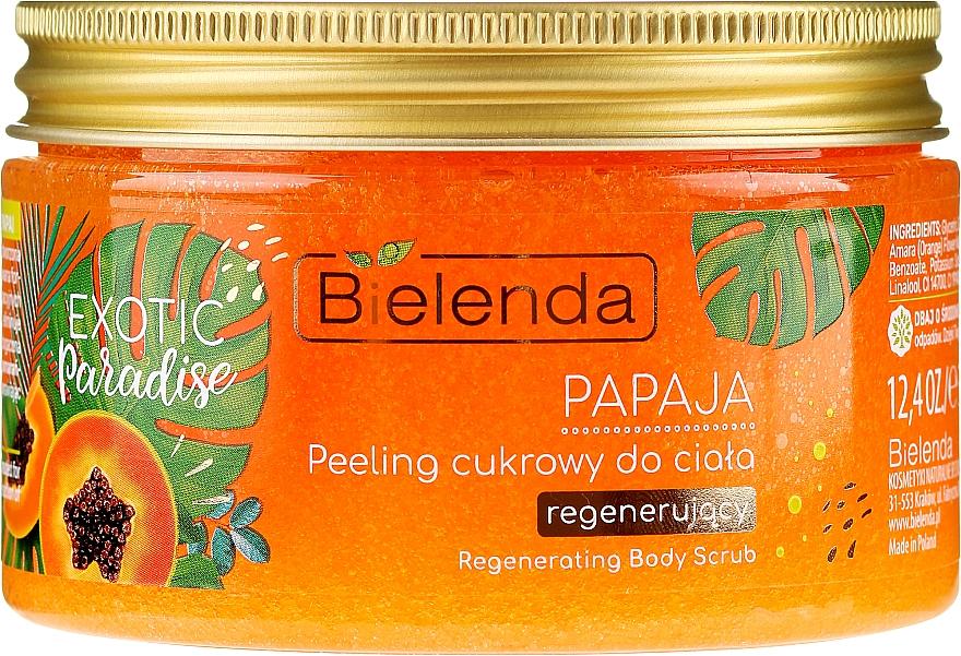 """Peeling corpo """"Papaya"""" - Bielenda Exotic Paradise Peel"""