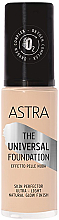 Profumi e cosmetici Fondotinta - Astra Make-up The Universal Foundation