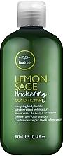 Profumi e cosmetici Balsamo a base di estratto di tea tree, limone e salvia - Paul Mitchell Tea Tree Lemon Sage Thickening Conditioner