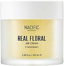 Profumi e cosmetici Crema viso con estratto di calendula - Nacific Real Floral Calendula Air Cream