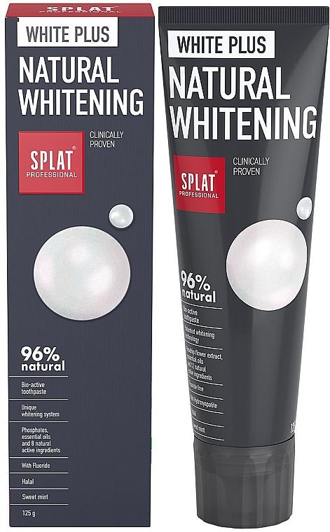 Dentifricio - SPLAT Professional White Plus Natural Whitening