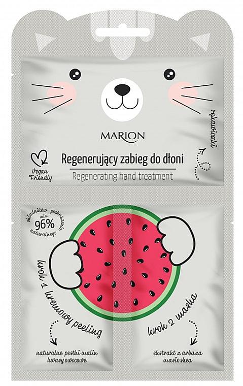 "Trattamento mani rigenerante ""Anguria"" - Marion Funny Animals Regenerating Hand Treatment"