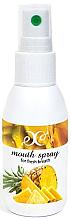 """Profumi e cosmetici Spray per la cavità orale """"Ananas"""" - Hristina Cosmetics Pineapple Mouth Spray"""