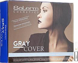 Profumi e cosmetici Lozione per la colorazione dei capelli grigi - Salerm Cubre Canas