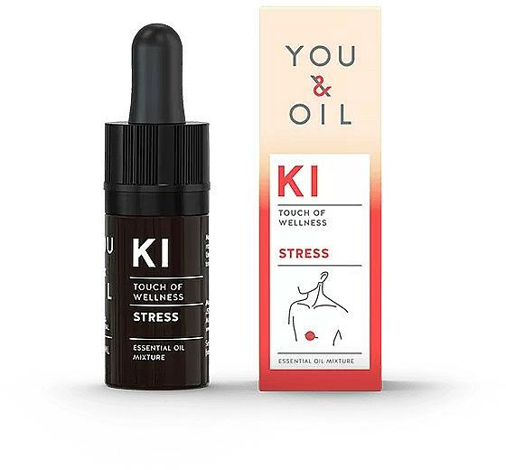 Miscela di oli essenziali - You & Oil KI-Stress Touch Of Welness Essential Oil