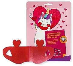 Maschera rassodante per il doppio mento - Patch Holic Costopia Love Heart Double Chin Mask — foto N2