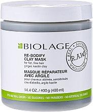 Profumi e cosmetici Maschera capelli - Biolage R.A.W. Re-Bodify Clay Mask