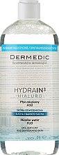 Profumi e cosmetici Acqua micellare per la pelle secca - Dermedic Hydrain3 Hialuro Micellar Water