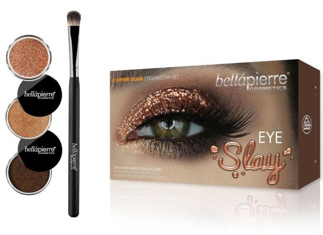 Set per il trucco degli occhi - Bellapierre Eye Slay Kit Copper Glam