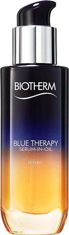 Siero-olio viso rigenerante da notte - Biotherm Blue Therapy Serum-In-Oil Night — foto N1