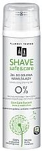 Profumi e cosmetici Gel da barba - AA Shave Safe&Care