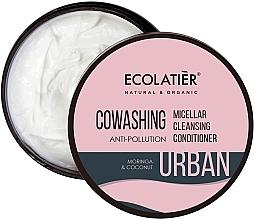 """Profumi e cosmetici Balsamo capelli micellare """"Moringa e cocco"""" - Ecolatier Urban Micellar Cleansing Conditioner"""