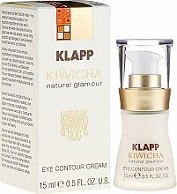 Profumi e cosmetici Crema-fluido per contorno occhi - Klapp Kiwicha Eye Contour Cream
