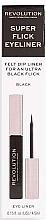Eyeliner - Makeup Revolution Super Flick Eyeliner — foto N2