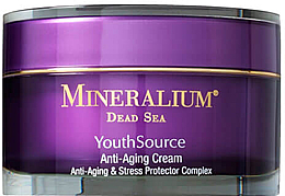 Profumi e cosmetici Crema viso antietà - Minerallium Youth Source Anti-Aging Cream