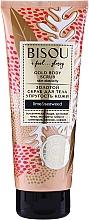 Profumi e cosmetici Scrub corpo rassodante - Bisou Lime&Marine Alga Gold Body Scrub