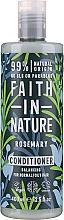 Profumi e cosmetici Balsamo per capelli al rosmarino - Faith in Nature Rosemary Conditioner