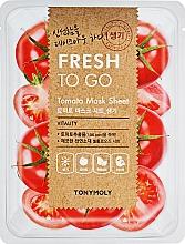 Profumi e cosmetici Maschera in tessuto rinfrescante al pomodoro - Tony Moly Fresh To Go Mask Sheet Tomato