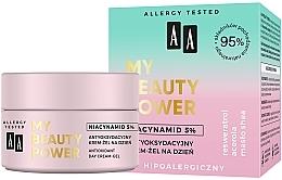 Profumi e cosmetici Crema viso antiossidante da giorno - AA My Beauty Power Niacynamid 5% Antioxidant Day Cream-Gel