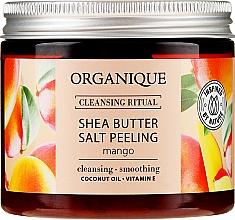 "Profumi e cosmetici Peeling al sale ""Mango"" - Organique Shea Butter Salt Peeling Mango"