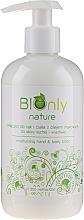 Profumi e cosmetici Lozione idratante mani e corpo con olio di semi di papavero - BIOnly Nature Moisturizing Hand & Body Lotion