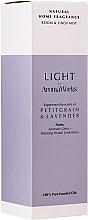 """Profumi e cosmetici Spray per ambienti """"Petitgrain e lavanda"""" - AromaWorks Light Range Room Mist"""