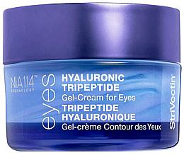 Profumi e cosmetici Crema-gel contorno occhi al tripeptide ialuronico - StriVectin Advanced Hydration Hyaluronic Tripeptide Gel-Cream For Eyes
