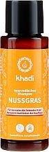 "Profumi e cosmetici Shampoo ayurvedico ""Nussgras"" - Khadi Nussgras Shampoo"