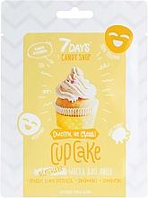 """Profumi e cosmetici Maschera viso """"Cupcake"""" con banana e vaniglia - 7 Days Candy Shop"""
