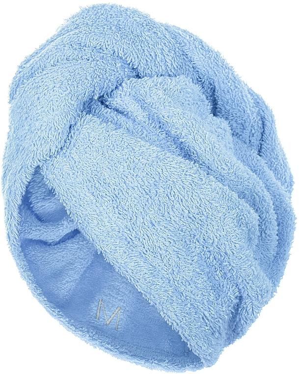 Asciugamano turbante, azzurro - MakeUp
