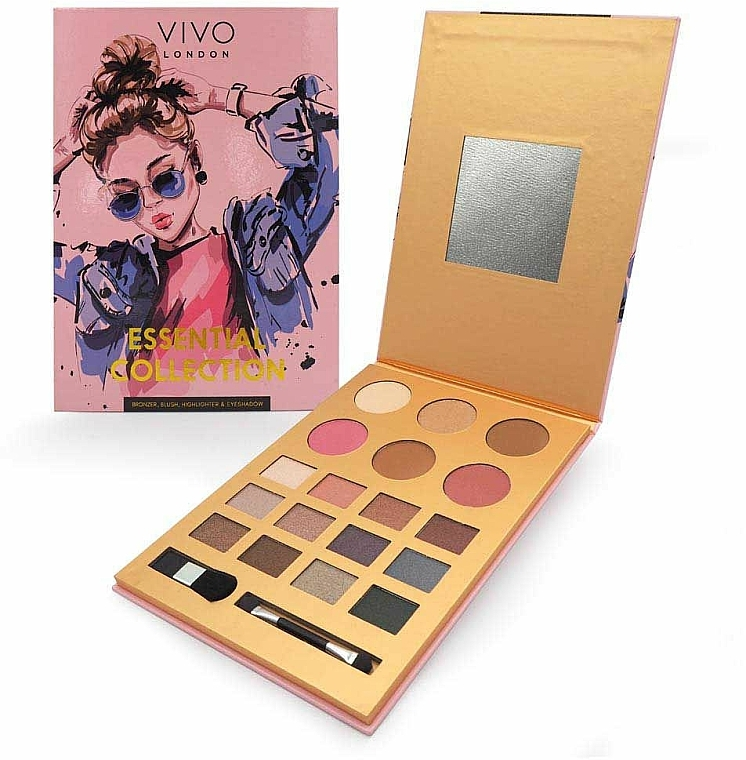 Palette trucco - Vivo London Essential Collection Palette