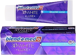Profumi e cosmetici Dentifricio - Blend-a-med 3d White Healthy Shine Toothpaste