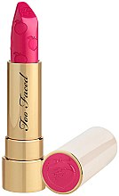 Profumi e cosmetici Rossetto opaco - Too Faced Peach Kiss Moisture Matte Long Wear Lipstick