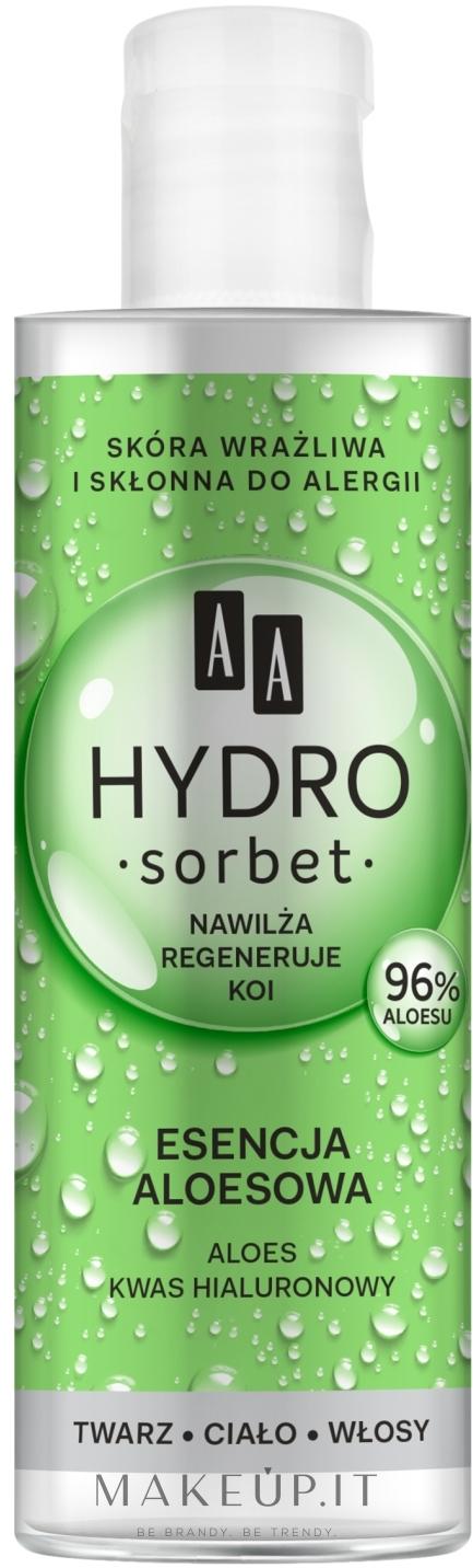 Essenza di aloe vera 96% - AA Hydro Sorbet Aloe Essenc 96% — foto 100 ml