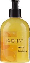 """Profumi e cosmetici Shampoo """"Shine"""" con cheratina per capelli secchi e fragili - Dushka"""