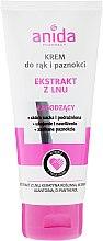Profumi e cosmetici Crema mani e unghie - Anida Pharmacy Linen Extract Hand Cream