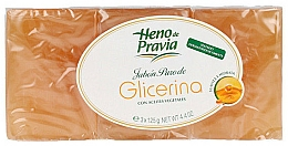 Profumi e cosmetici Set - Heno De Pravia Glycerin (3 x soap/125g)