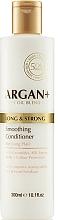 Profumi e cosmetici Condizionante capelli con ceramidi - Argan + Long & Strong Smoothing Conditioner