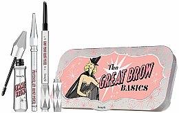 """Profumi e cosmetici Set sopracciglia """"Tutto in uno"""" - Benefit The Great Brow Basics (brow/gel/3g+brow/pencil/0.17g+brow/pencil/mini/0.04g) (02- Light)"""