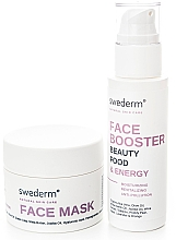 Profumi e cosmetici Set - Swederm (f/mask/100ml + f/booster/100ml)