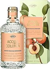 Profumi e cosmetici Maurer & Wirtz 4711 Acqua Colonia White Peach & Coriander - Colonia