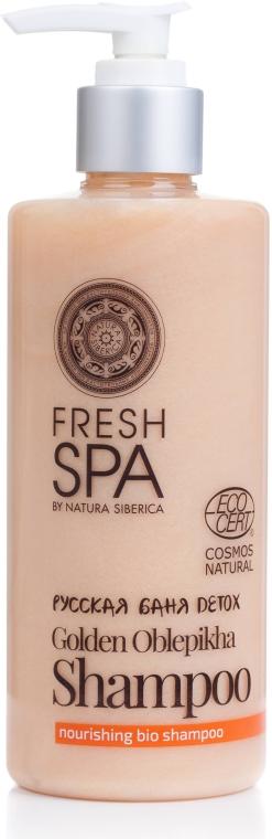 Shampoo nutriente per capelli secchi e disidratati - Natura Siberica Fresh Spa Russkaja Bania Detox Golden Oblepikha Shampoo — foto N1