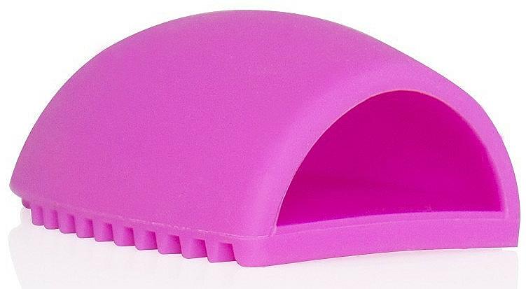 Accessorio in silicone per la pulizia di spazzole e pennelli 4499, rosa - Donegal Brush Cleaner — foto N3