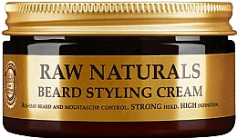 Profumi e cosmetici Crema per lo styling della barba - Recipe For Men RAW Naturals Beard Styling Cream