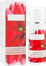 Profumi e cosmetici Crema nutriente alla calendula e germogli - Ryor Nourishing Cream With Calendula And Wheat Germ Oil