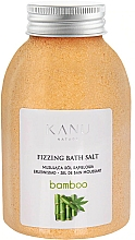 "Profumi e cosmetici Sale da bagno frizzante ""Bambù"" - Kanu Nature Bamboo Bath Salt"
