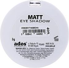 Ombretto opaco - Ados Matt Effect Eye Shadow — foto N16