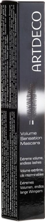 Mascara volume e incurvatura - Artdeco Volume Sensation Mascara
