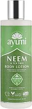 "Profumi e cosmetici Crema corpo ""Neem e tea tree"" - Ayumi Neem & Tea Tree Body Lotion"